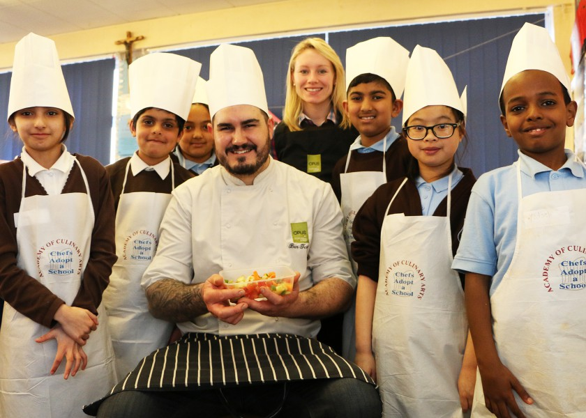 opus-at-st-clares-primary-school-with-executive-chef-ben-ternent-and-sustainability-champion-sarah-hepburn
